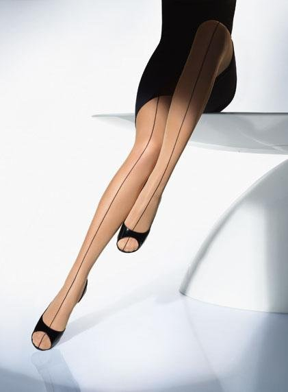 Wolford Front Seam Tights